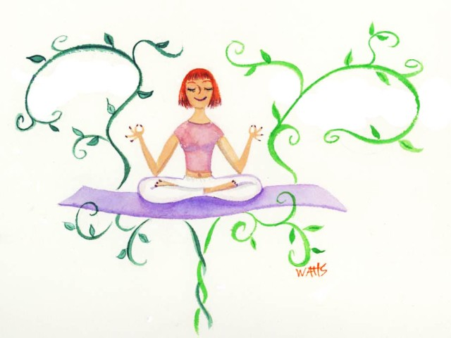 Mindfulness blog art